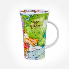 Dunoon Mugs Glencoe Map of Europe
