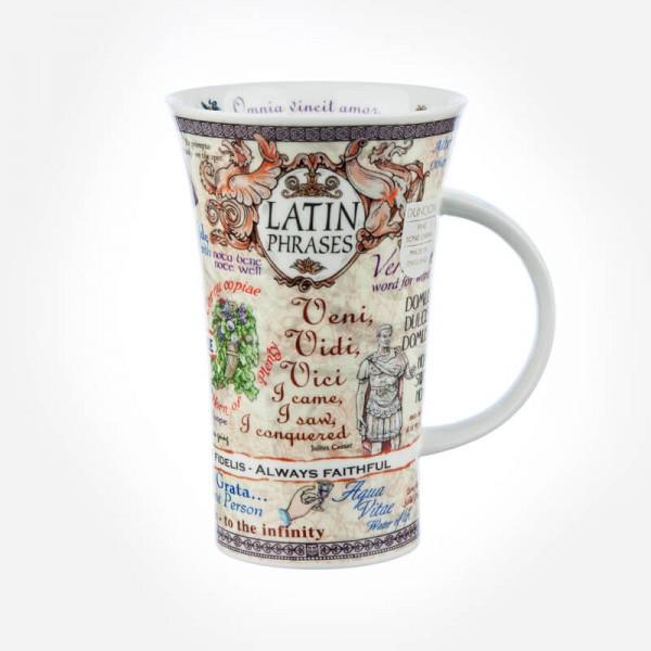 Dunoon Mugs Glencoe Latin Phrase