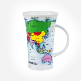 Dunoon Mugs Glencoe Map of the World