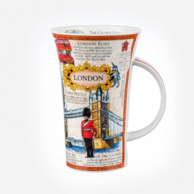 Dunoon Mugs Glencoe London Montage Mug