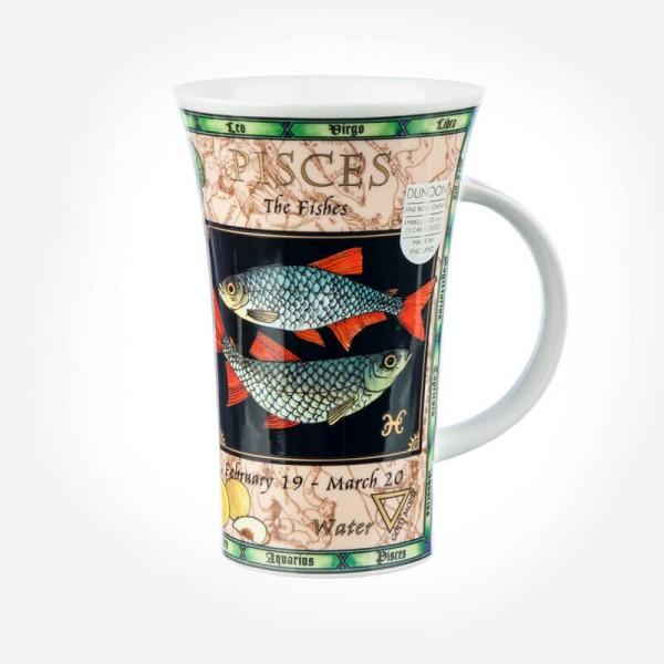 Dunoon Mugs Glencoe Zodiacs Pisches