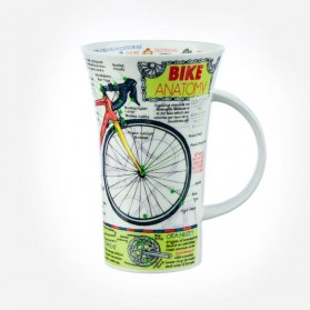 Dunoon Mugs Glencoe Bike Anatomy