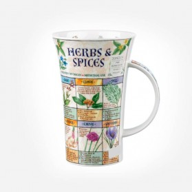 Dunoon Mugs Glencoe Herbs and Spices Mug