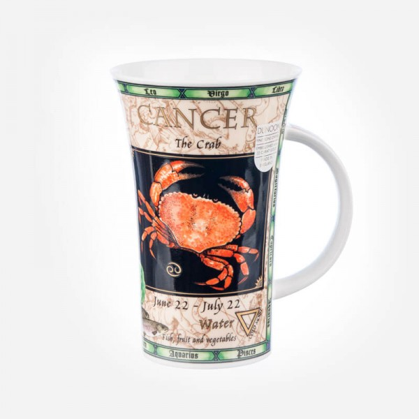 Dunoon Mugs Glencoe Zodiacs Cancer