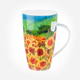 Dunoon Mugs Henley Paysage Sunflowers