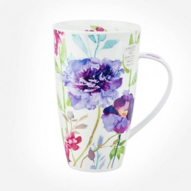 Dunoon Mugs Henley Bloom Purple