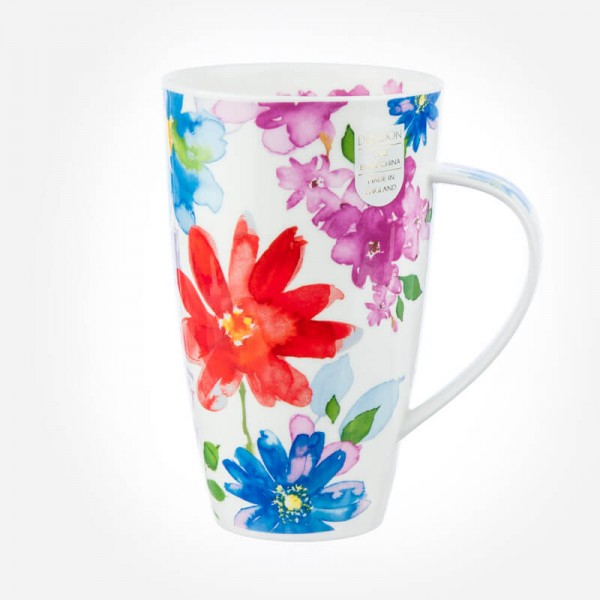 Dunoon Mugs Henley Bloom Red
