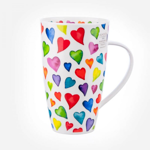 Dunoon Mugs Henley Warm Hearts