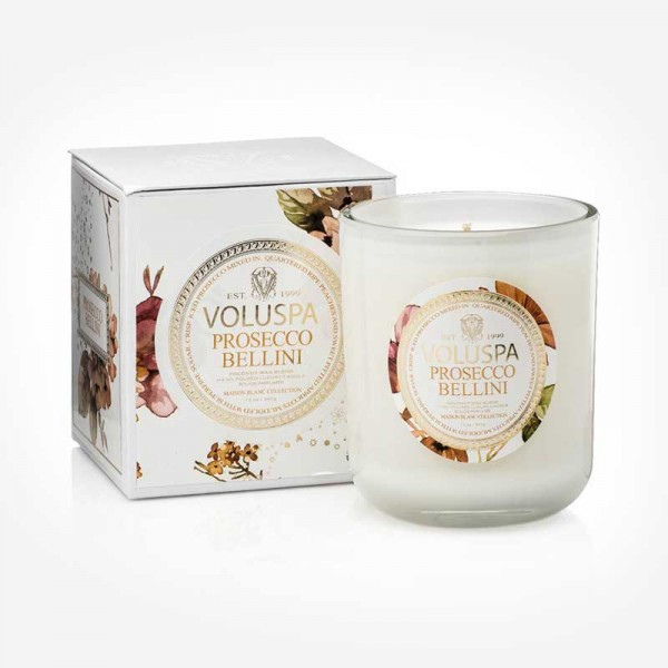 MAISON BLANC 12oz Boxed Prosecco Bellini Scented candles