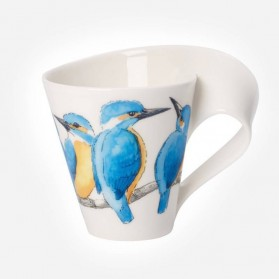 Newwave Caffe King Fisher Mug 0.35L