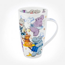 Dunoon Mugs Henley Troublemakers Hippo