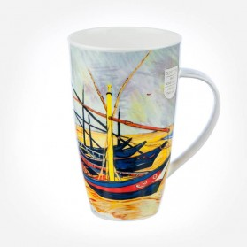 Dunoon Mugs Henley Impressionists 3 Fishing Boat