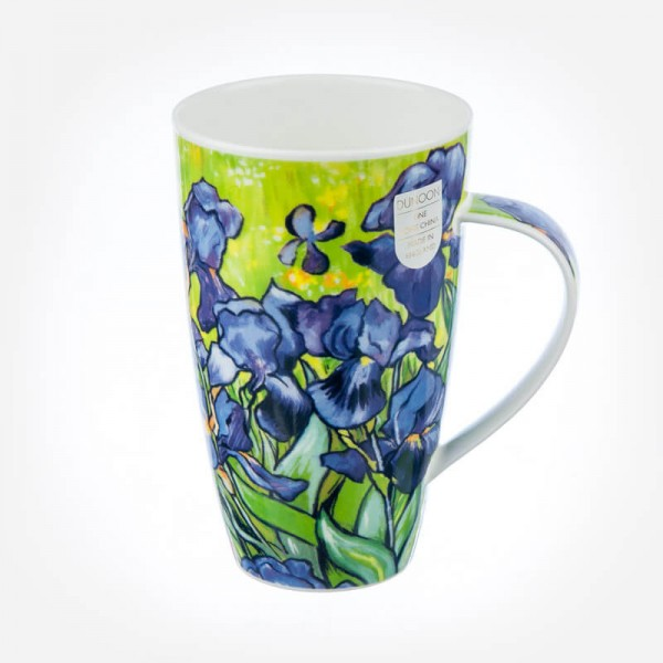 Dunoon Mugs Henley Impressionists Irises