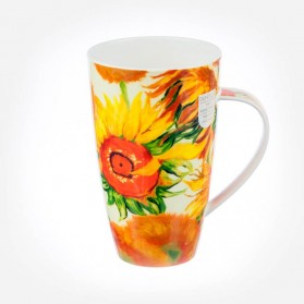 Dunoon Mugs Henley Impressionists 2 Sunflowers