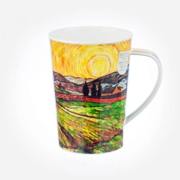 Dunoon Argyll Impressionist Landscape Rising Sun