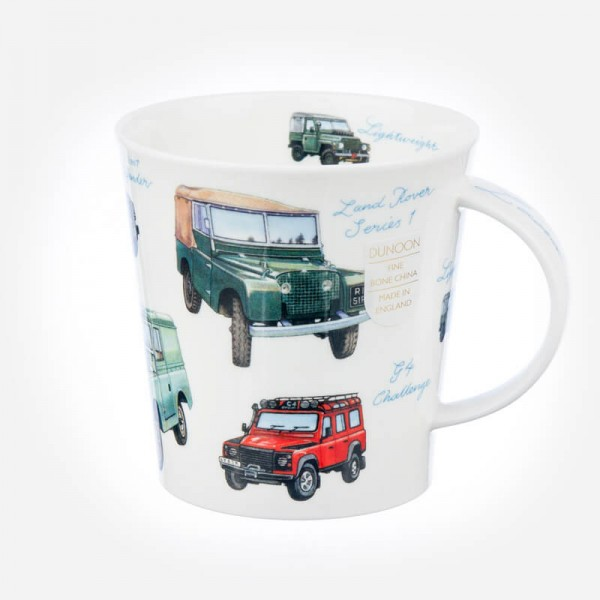 Dunoon Mugs Cairngorm Classic Collection Land Rovers
