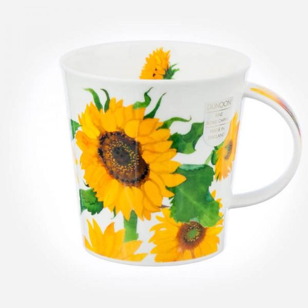 Dunoon Mugs Cairngorm Grandes Fleurs Sunflowers