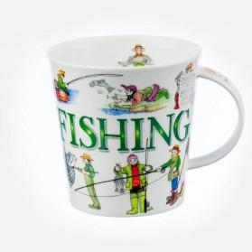 Dunoon Mugs Cairngorm Sporting Antics Fishing