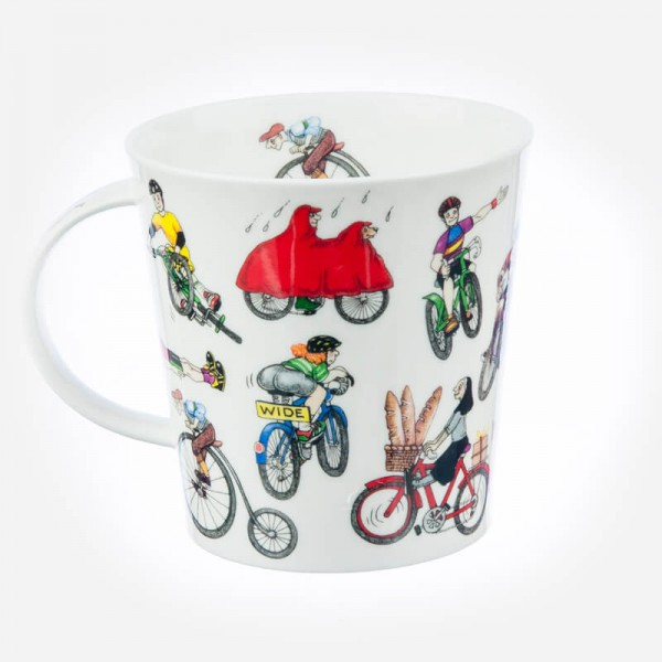 Dunoon Mugs Cairngorm Sporting Antics CYCLING