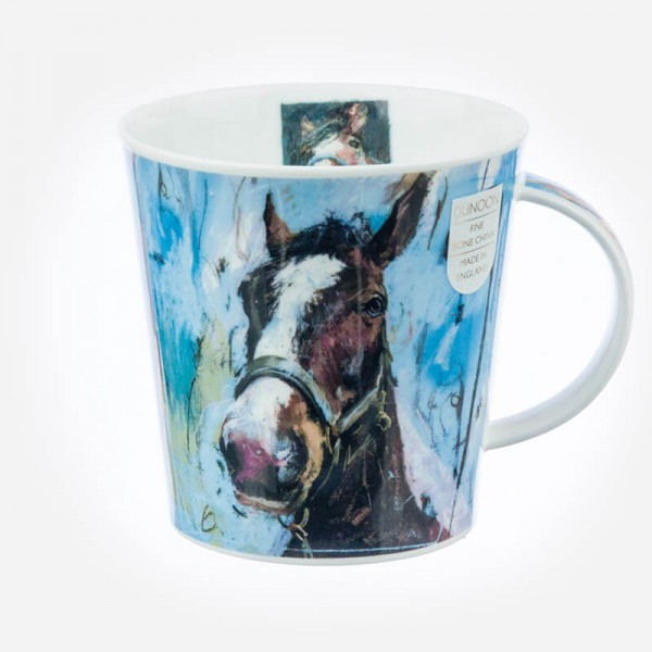 Dunoon Mugs Cairngorm Animals on Canvas Horse
