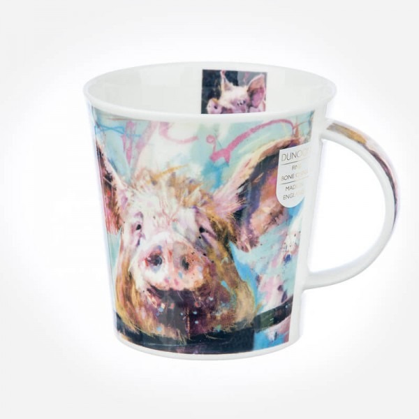 Dunoon Mugs Cairngorm Animals in Art Pig