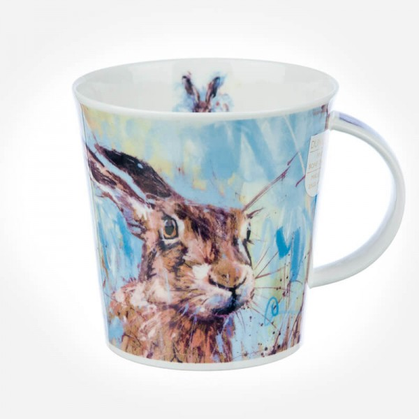 Dunoon mugs cairngorm animals in art hare for Animal shaped mugs