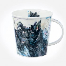 Dunoon Cairngorm Dogs on Canvas SCOTTIE mug