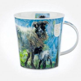 Dunoon Mugs Cairngorm Animals on Canvas Sheep