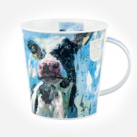 Dunoon Mugs Cairngorm Animals on Canvas Cow