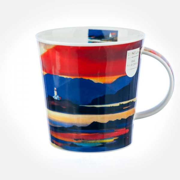 Dunoon Mugs Cairngorm RED SKIES LIGHTHOUSE
