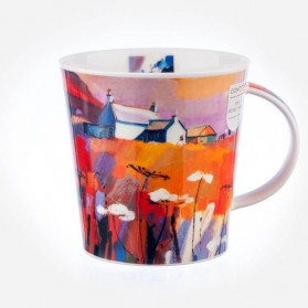 Dunoon Mugs Cairngorm RED SKIES CROFT