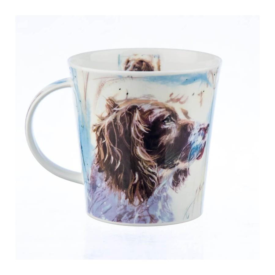 Dunoon Cairngorm Mug Canvas Springer Dogs