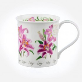 Dunoon Mugs Bute Autumn Flowers Lily