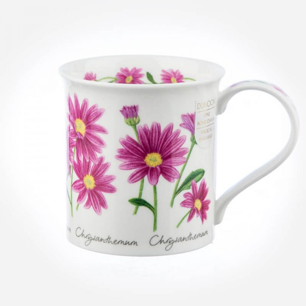 Dunoon Mugs Bute Autumn Flowers Chrysanthemum