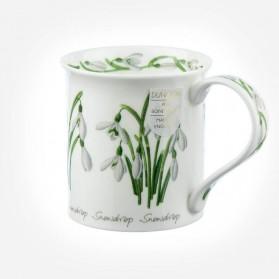Dunoon Mugs Bute Spring Flowers Snowdrop