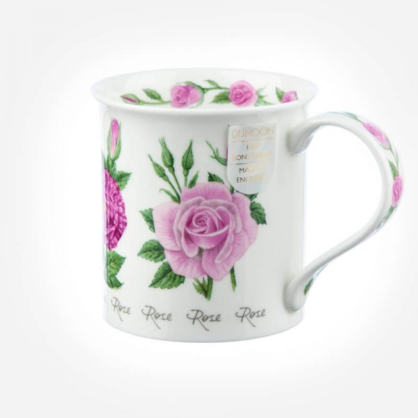Dunoon Mugs Bute Summer Flowers Rose