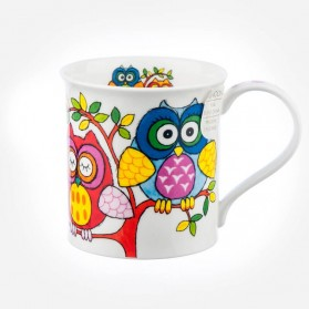 Dunoon Mugs Bute Life's Hoot Tree