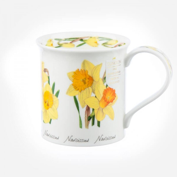 Dunoon Mugs Bute Spring Flowers Daffodil