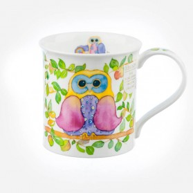 Dunoon Mugs Bute Wise Owls Tree