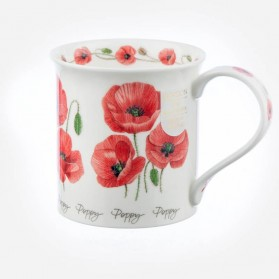 Dunoon Mugs Bute Summer Flowers Poppy