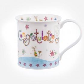 Dunoon Mugs Bute Greetings II Congratulations