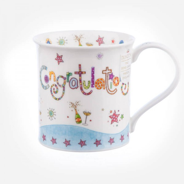 Dunoon Mugs Bute Greetings II Congratulations