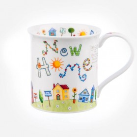 Dunoon Mugs Bute Greetings 2 New home
