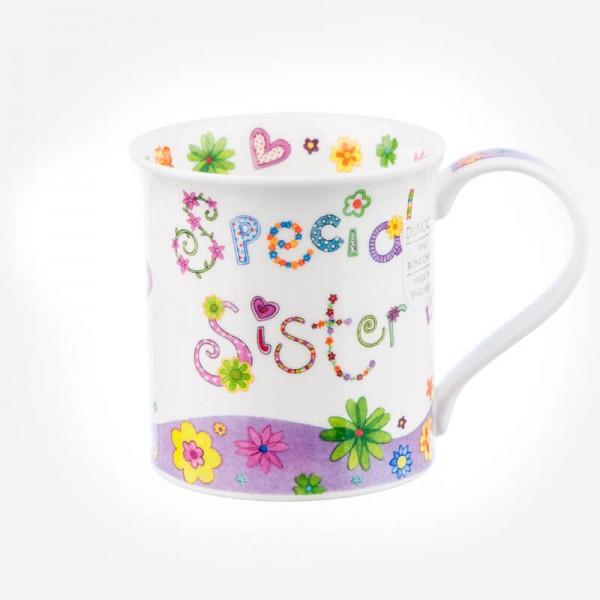 Dunoon Mugs Bute Greetings 2 Special Sister