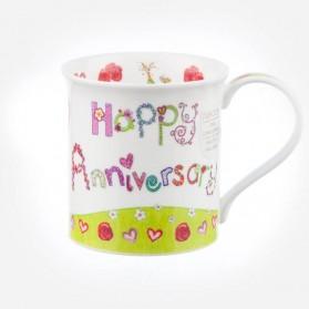Dunoon Mugs Bute Greetings II Happy Anniversary
