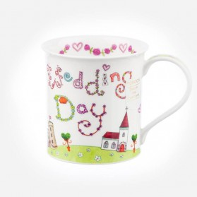 Dunoon Mugs Bute Greetings 2 Wedding Day