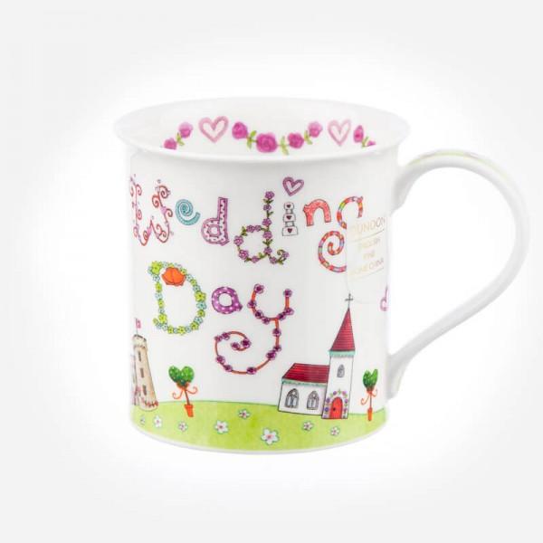Dunoon Mugs Bute Greetings 2 Wedding Day