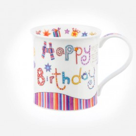 Dunoon Mugs Bute Greetings 2 Happy Birthday