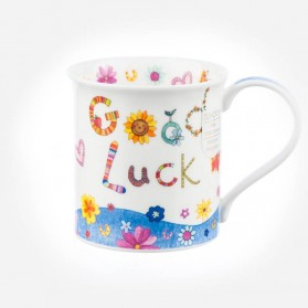 Dunoon Mugs Bute Greetings Good Luck