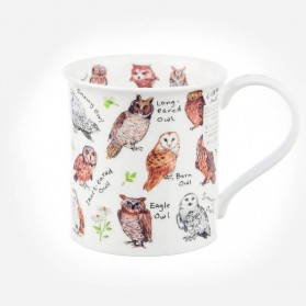 Dunoon Mugs Bute Birdlife Owls